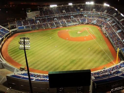 NSA官員來台,我情治官員曾安排對方到桃園國際棒球場,體驗台灣職棒文化。圖/桃園國際棒球場官網