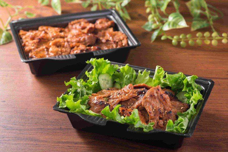 NEXT牛五花標榜蛋白質為一般肉品的2倍,脂肪僅有一半。圖/燒肉LIKE提供