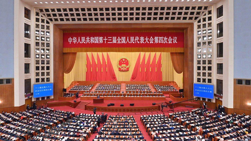 中國大陸全國人民代表大會正在北京召開。 新華社