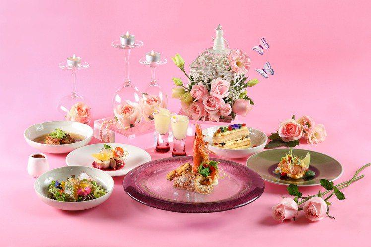 Asia 49於3月14日推出白色情人節限定晚餐。圖/Asia 49提供