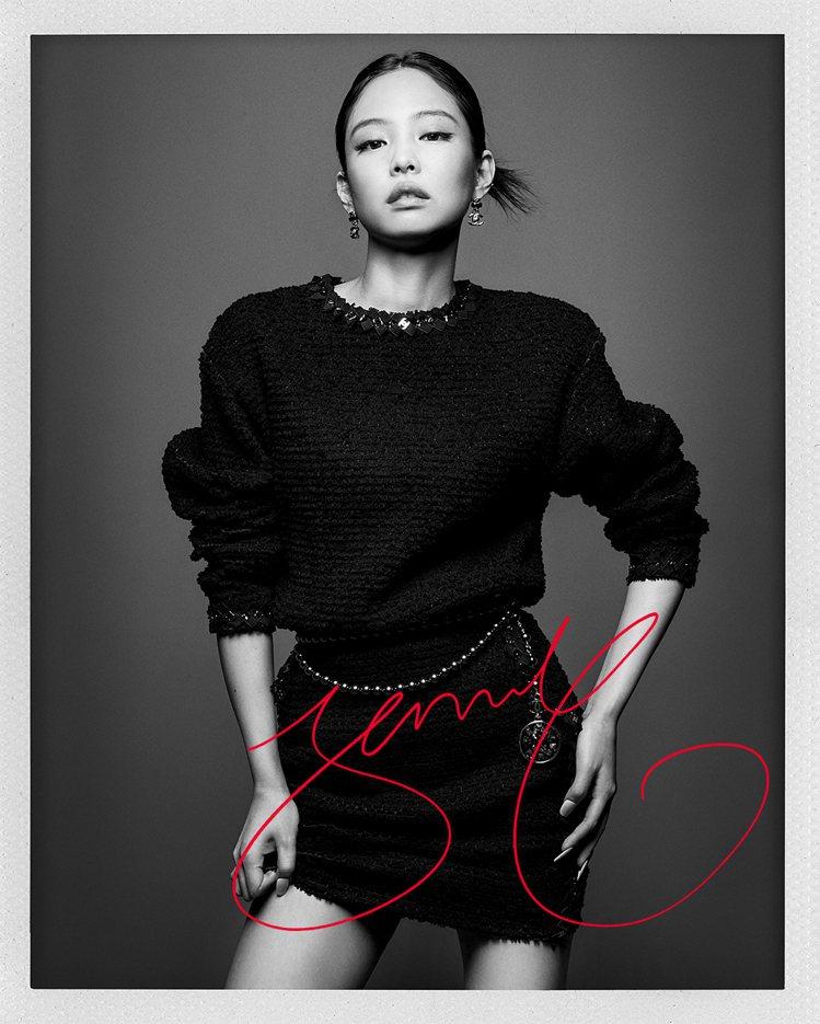 Jennie Kim。圖/香奈兒提供