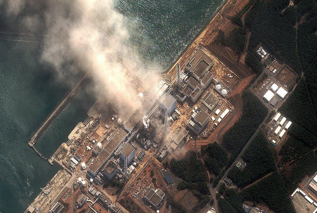 日本福島第一核電廠2011年3月發生爐心熔解、輻射外洩的事故。 法新社
