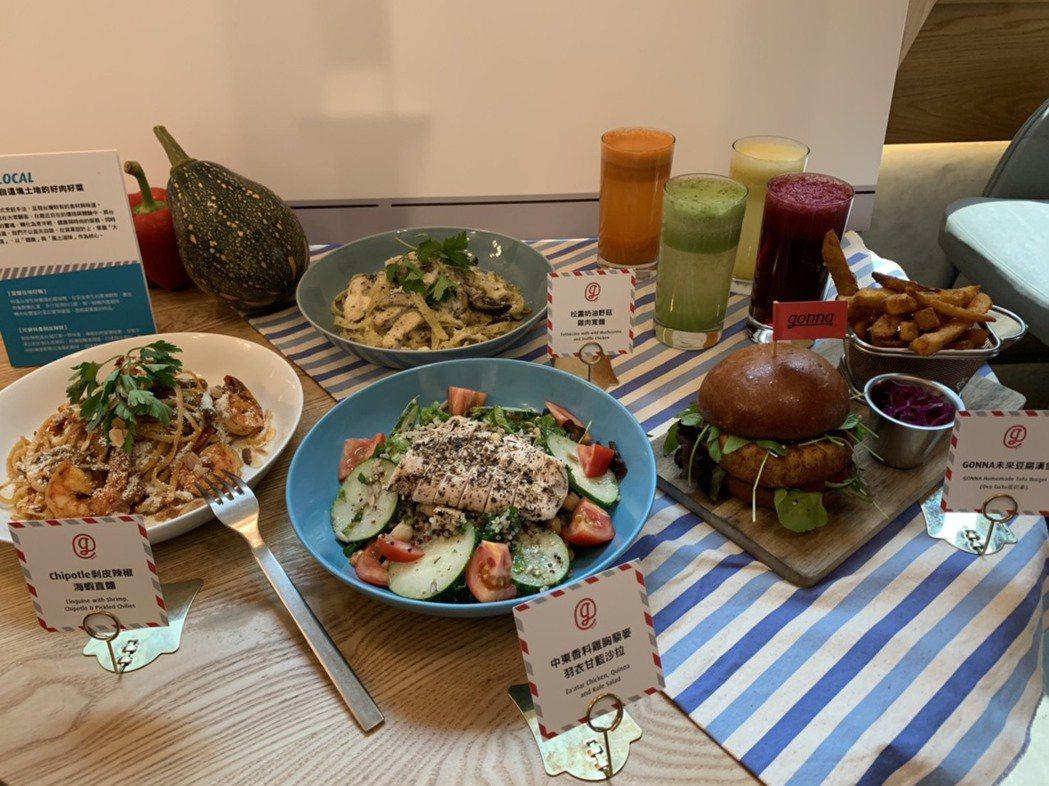 新增菜式中,將歐美盛行的健康食材「法蘿麥 Farro」與超級食物引薦給顧客,設計...