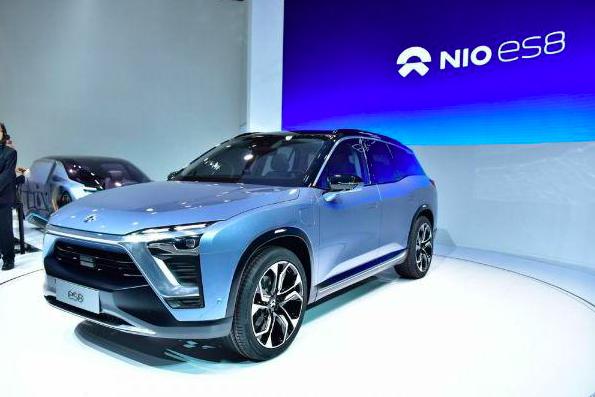 大陸電動汽車企業蔚來汽車,近年推出多款電動汽車。(新浪微博照片)