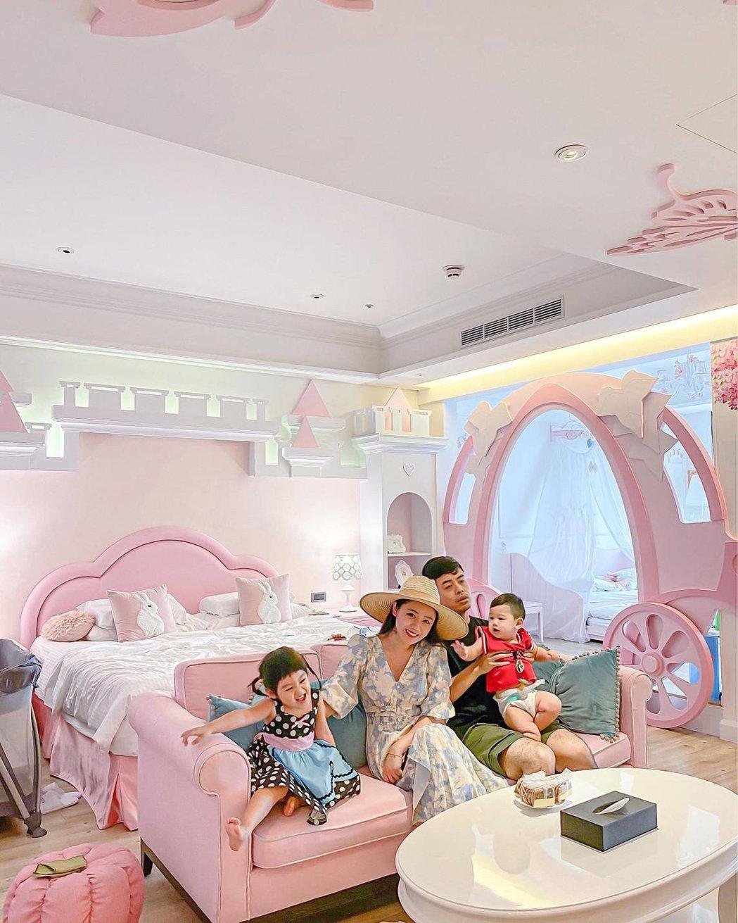 義大皇家酒店推出的「超玩美」親子主題房平日專案,自即日起至4月30日止。 圖/義...