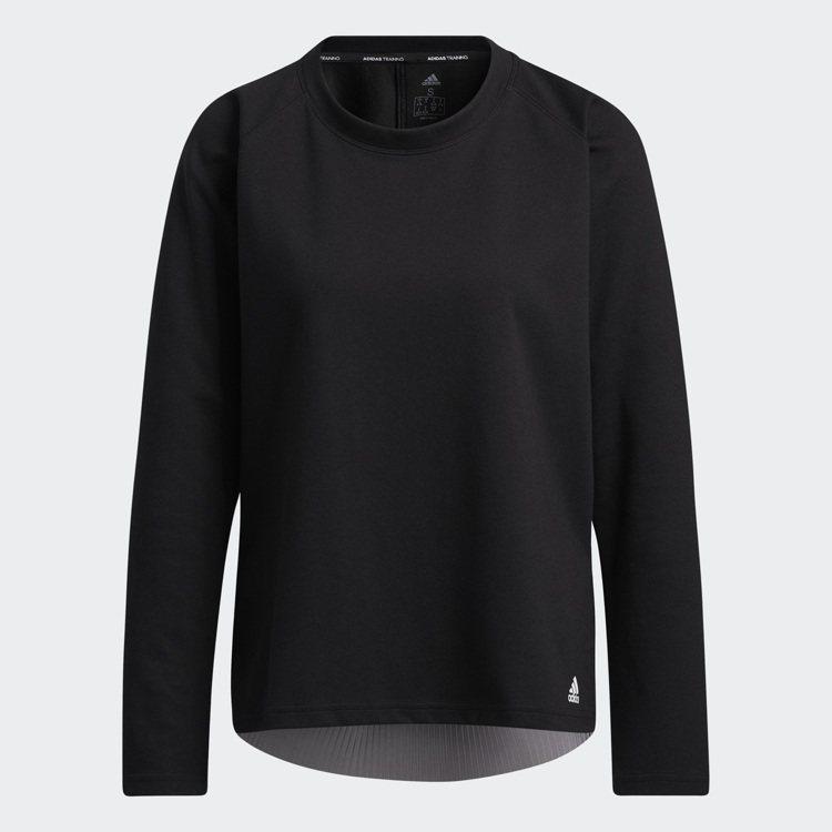 adidas運動長袖T恤1,490元。圖/adidas提供
