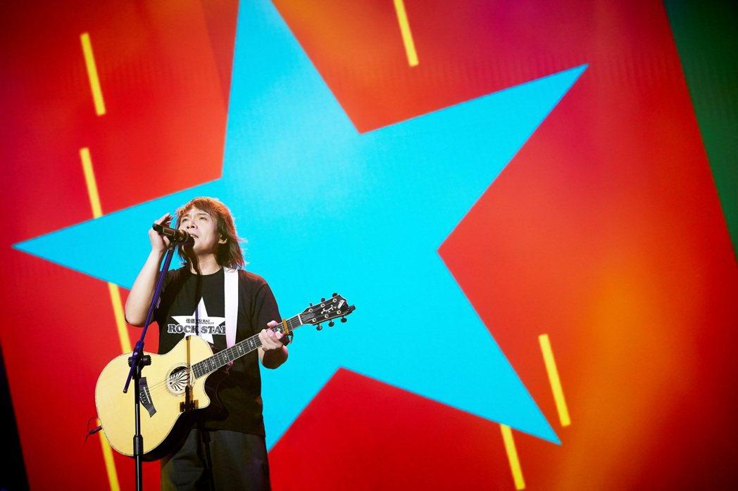 伍佰&China Blue在3年前展開「Rock Star」巡演。圖/開麗娛樂提...