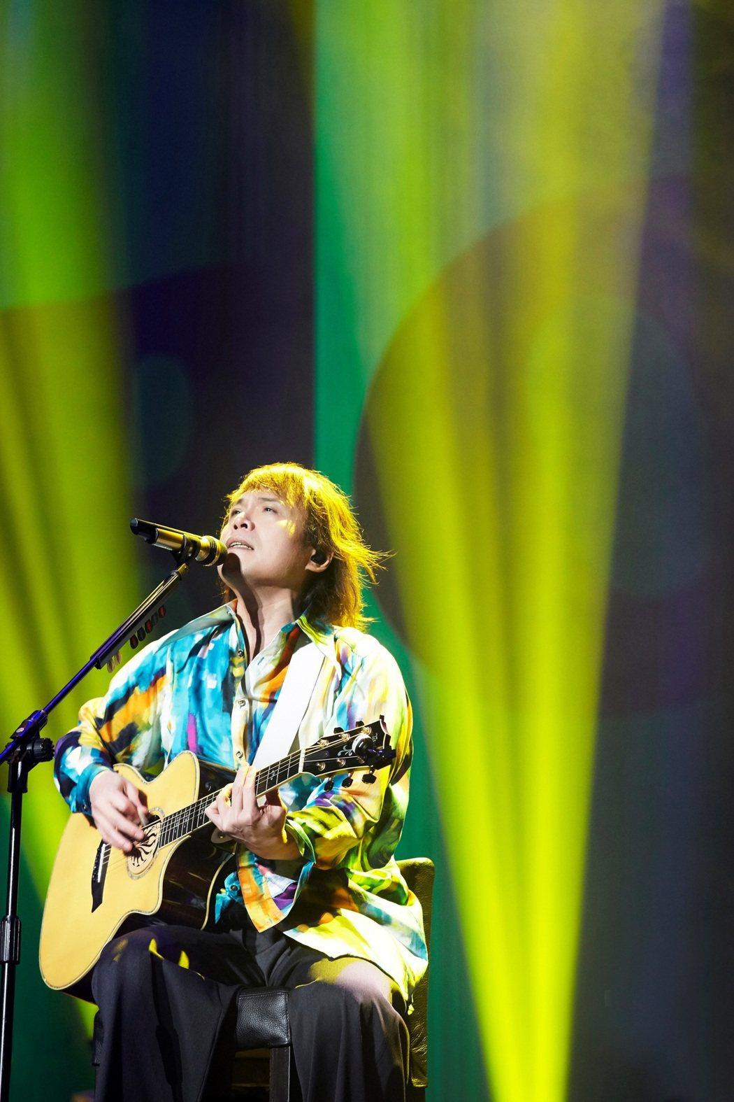 伍佰驚喜宣布「Rock Star」巡演加開高雄場。圖/開麗娛樂提供
