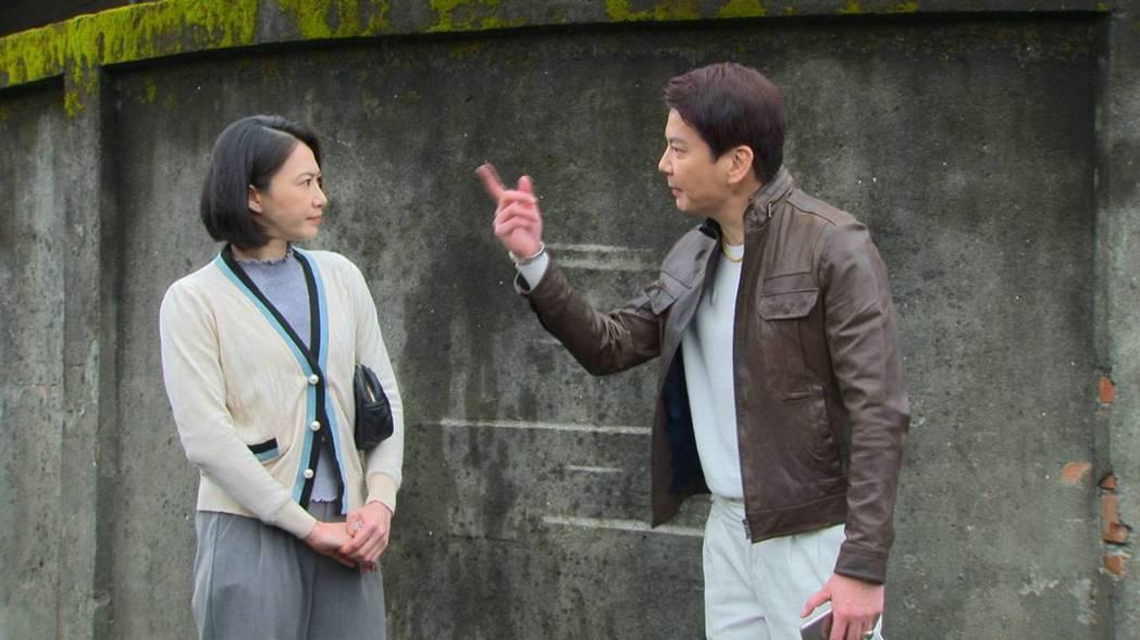 「多情城市」侯怡君(左)、倪齊民不打不相識,初登場就鬧笑話。圖/民視提供
