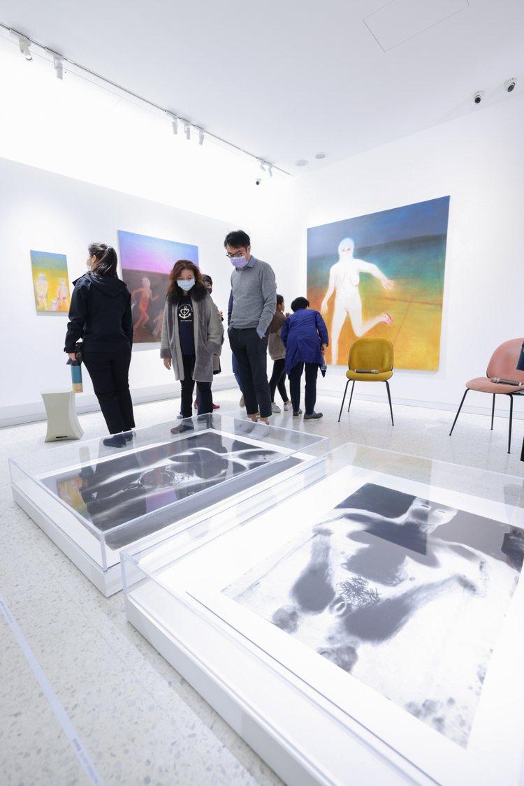 橫跨藝術家生涯30年的30件大小作品,包含性別、能源、動植物、難民等多個主題。記...