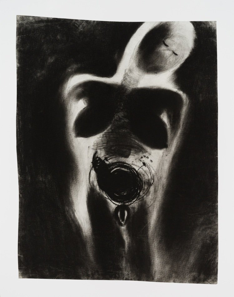 早年多以黑白作畫,加上鮮明的女性平權意識,是Miriam Cahn深受收藏家喜愛...