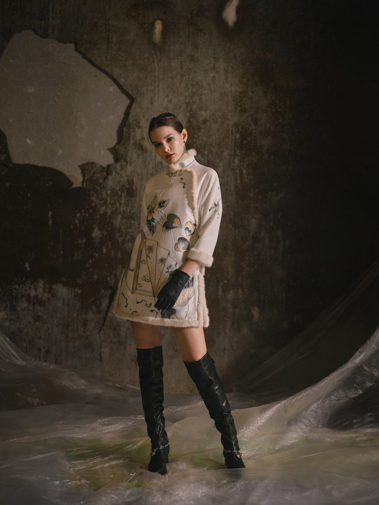 夏姿發表2021秋冬女裝。圖/夏姿提供