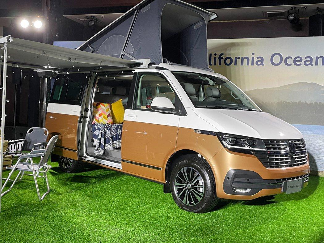 純粹的露營車可以一次滿足所有的需求。記者邱馨儀/攝影
