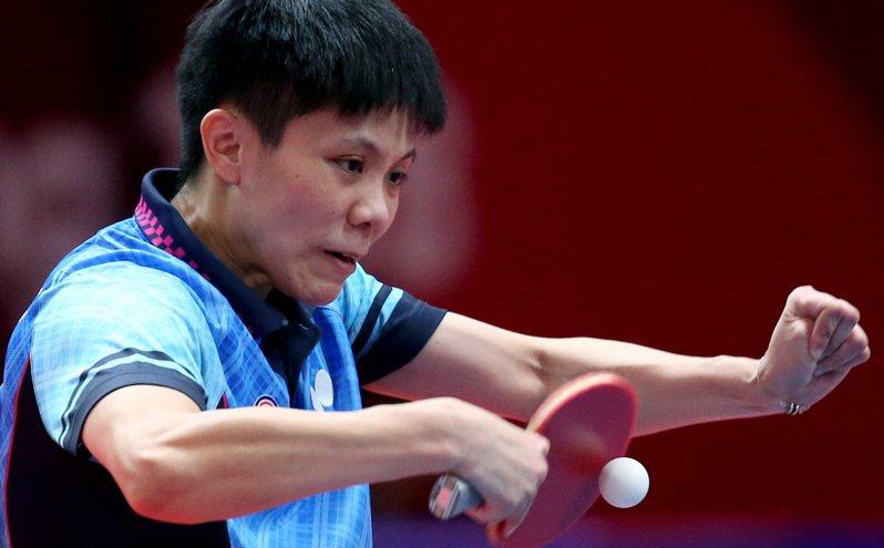 國桌球「一姊」鄭怡靜在WTT球星挑戰賽卡達站無緣女單8強。 聯合報系資料照