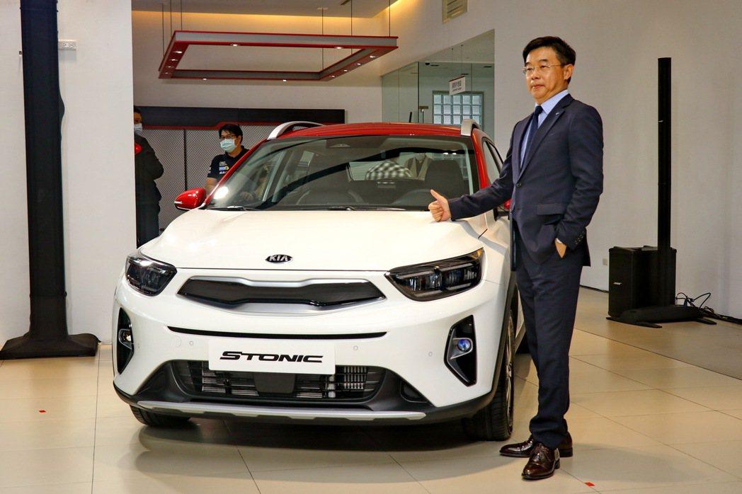 KIA Stonic小改款升級配備,並新增48V輕油電,售價73.9萬起。 記者...