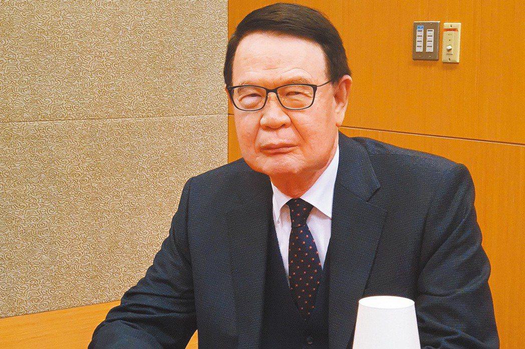 儒鴻董事長洪鎮海。記者曾仁凱/攝影