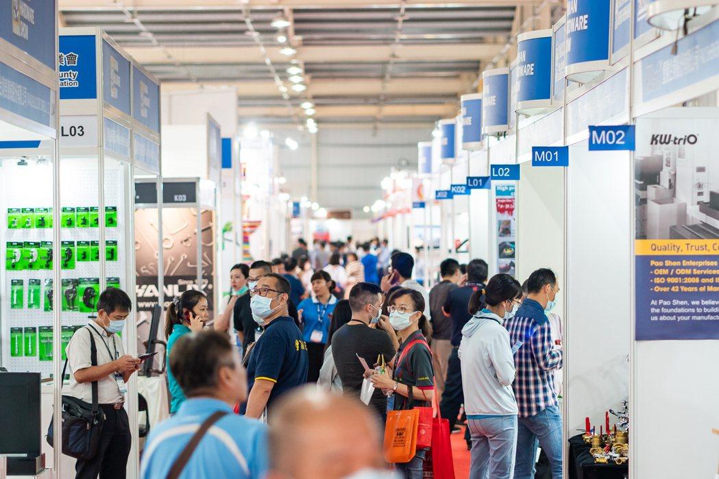2020年「THS台灣五金展」現場展出實況。 開國/提供