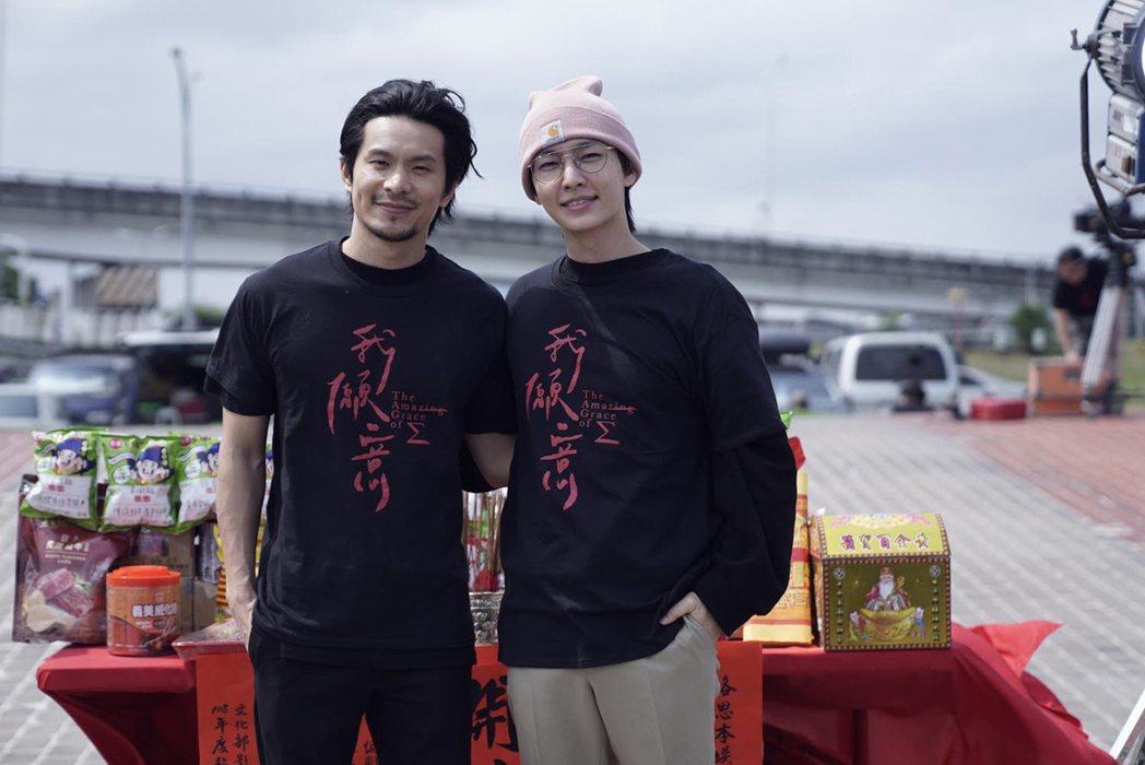 邪教犯罪影集「我願意」以雙男主角形式演出,金鐘視帝姚淳耀(左)詮釋邪教教主,藝人