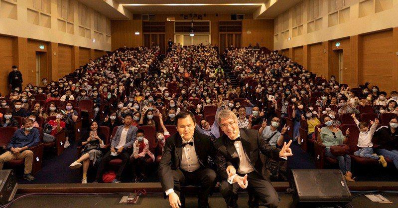 「聲聲不息」雙鋼琴說唱音樂會2020桃園首演活動照。圖/聯合數位文創提供