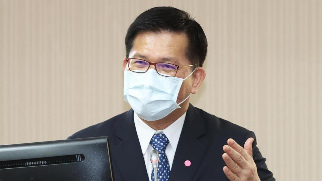 交通部長林佳龍。記者潘俊宏/攝影