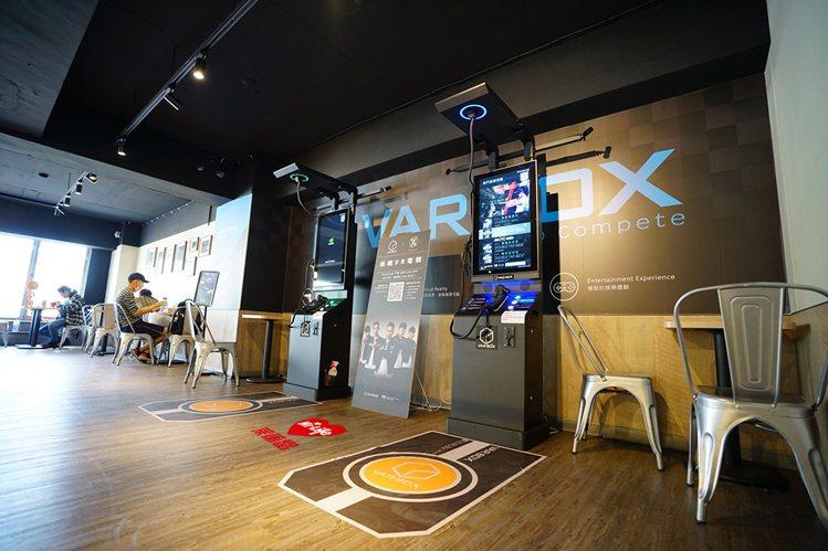 萊爾富與維亞科技(VAR LIVE)、遠傳電信合作設立「5G體驗電競實驗店」,透...