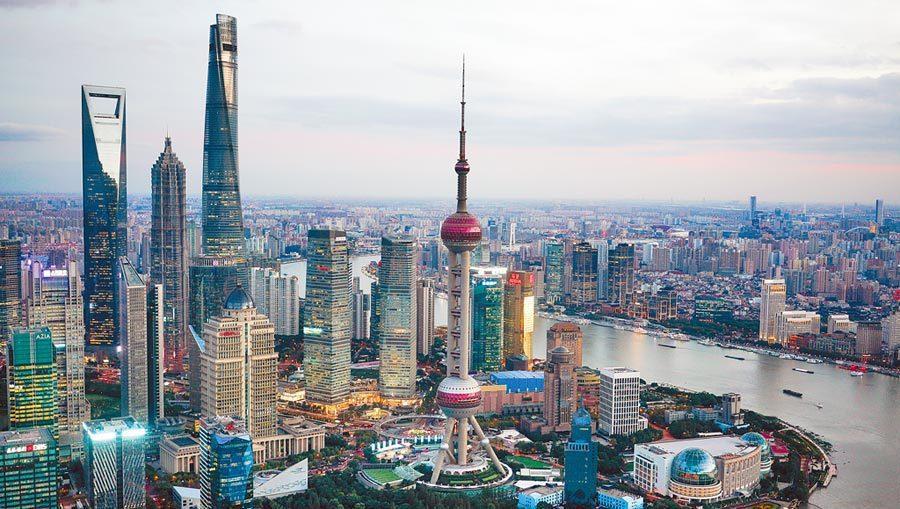 圖為上海市容。新華社資料照片