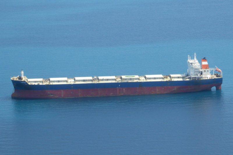 馬爾他籍散裝貨輪Topas。圖/擷自shipspoting.com