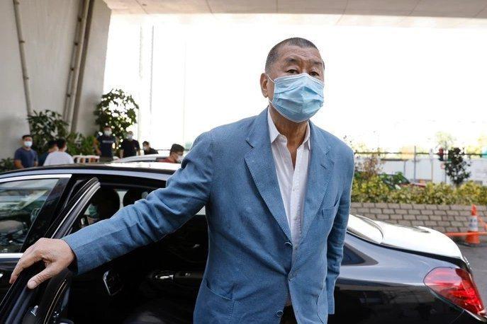 香港壹傳媒集團創辦人黎智英。圖/取自路透社