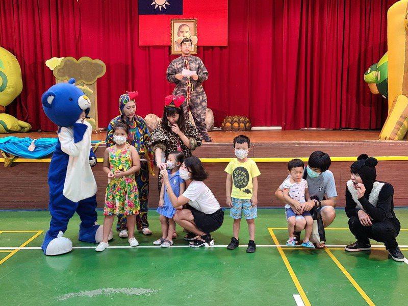 4月兒童月金山連續4周演出4場黃金傳奇,看戲集點換禮物。圖/金山區公所提供