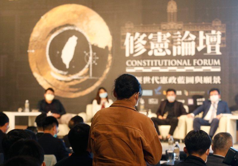 現行修憲門檻極高,若朝野政黨對修憲議題沒有共識,修憲恐連立法院這一關都過不了。圖/聯合報系資料照片