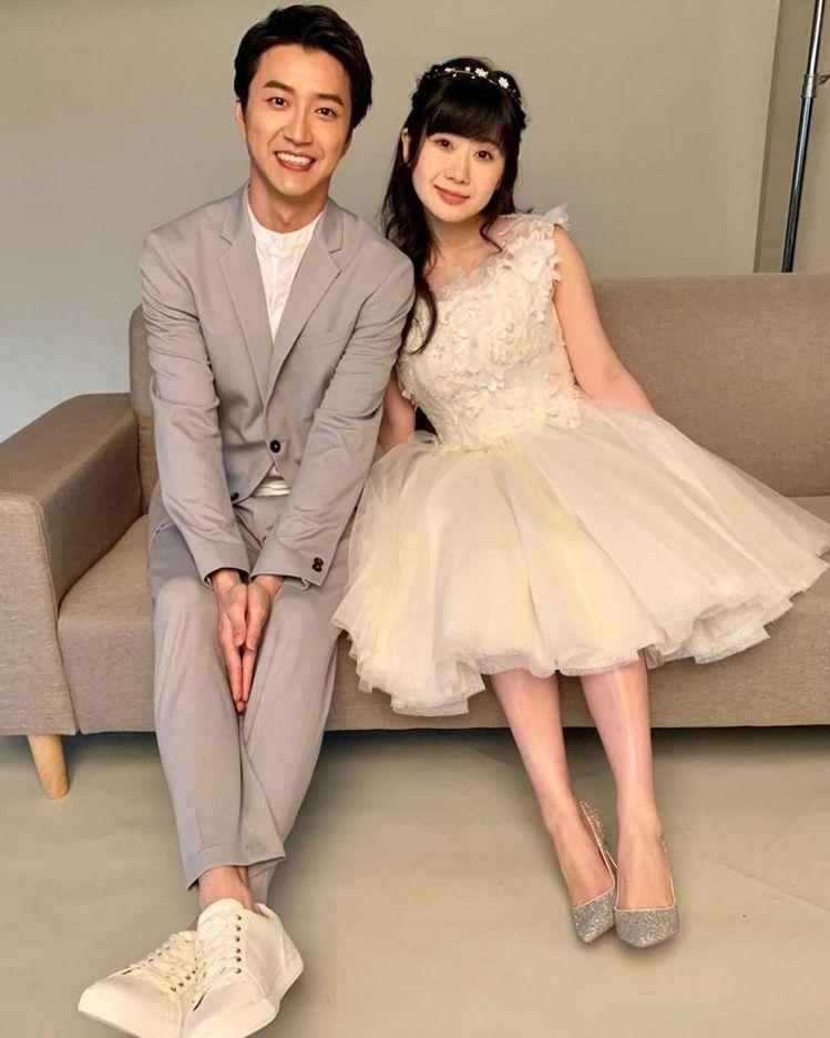 江宏傑(右)與福原愛(左)爆出婚變風波。 圖/摘自江宏傑IG
