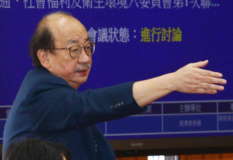 民進黨立院黨團總召柯建銘。圖/聯合報系資料照片