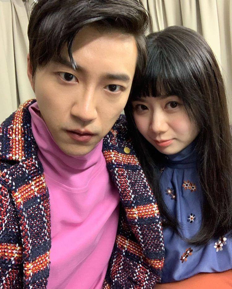 江宏傑(左)、福原愛婚變傳聞越演越烈。圖/摘自IG