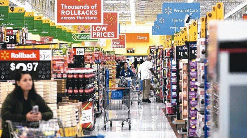 美國3月整體及核心消費者物價指數(CPI)都比2月明顯上升。 美聯社