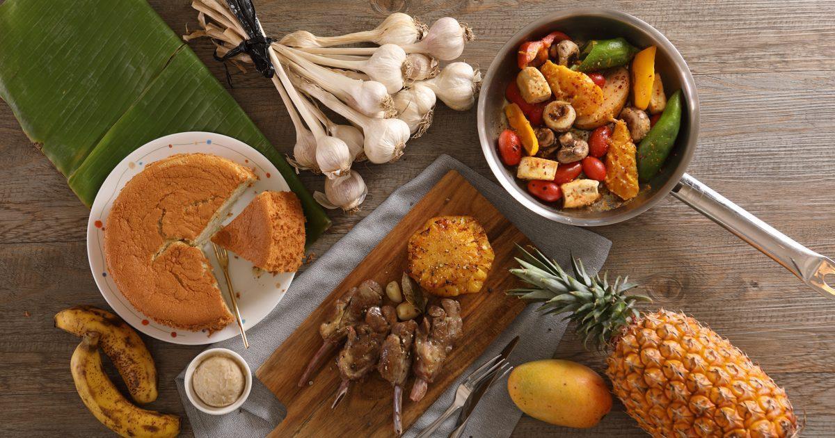 台灣一年四季盛產各式水果,除了鮮吃,加入料理更是滋味絕妙。 圖/劉沅羲 攝影