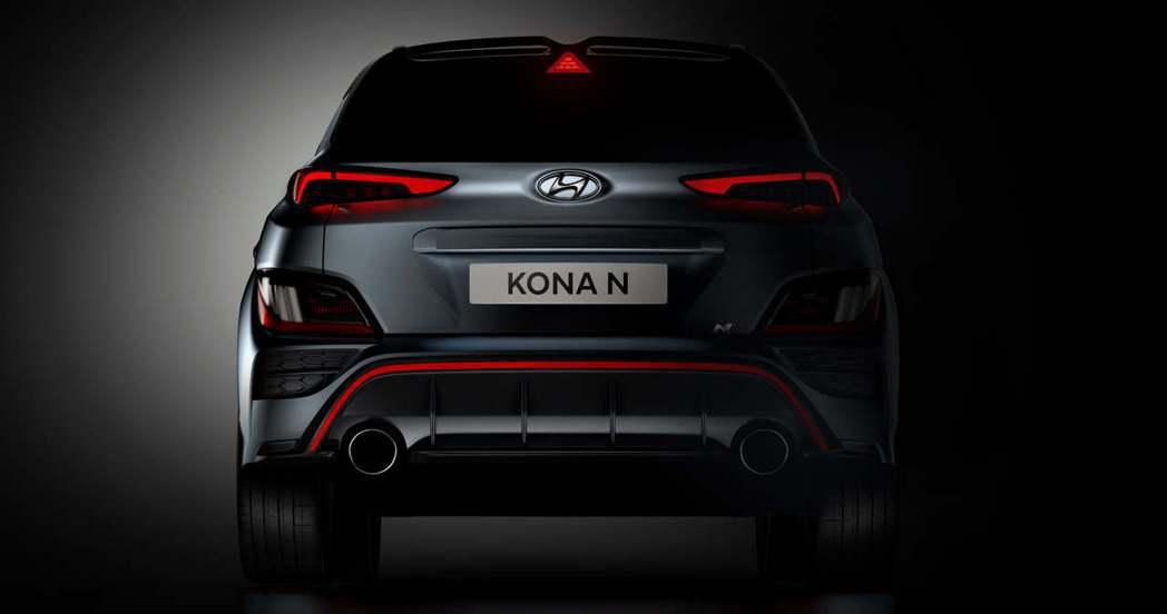 全新Hyundai Kona N性能休旅將於近期發表。 摘自Hyundai