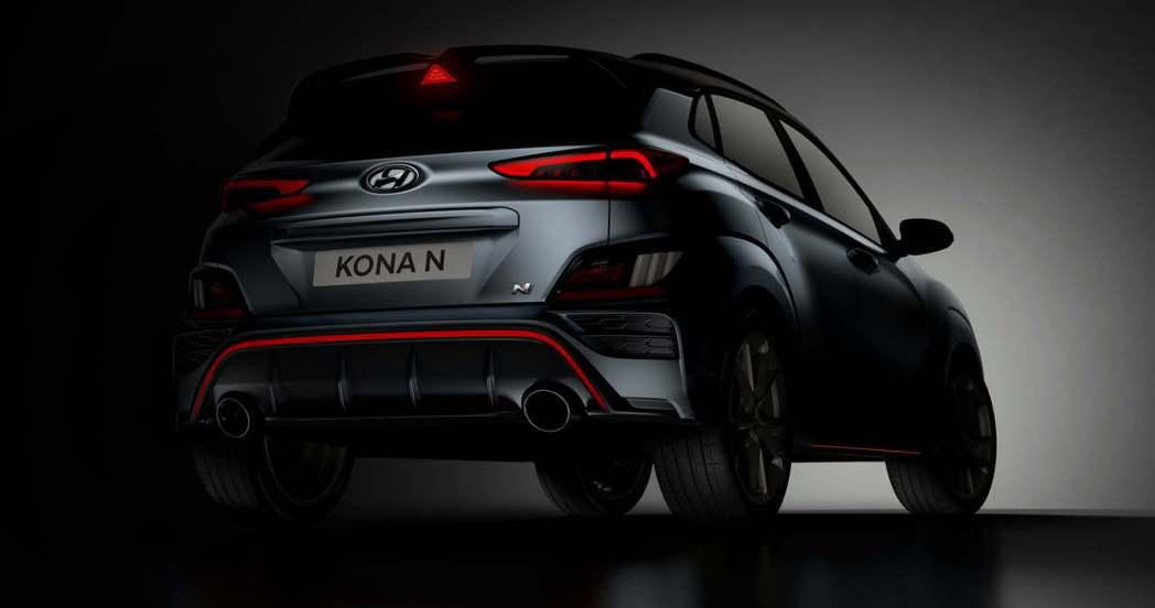 全新Hyundai Kona N性能休旅發表在即。 摘自Hyundai