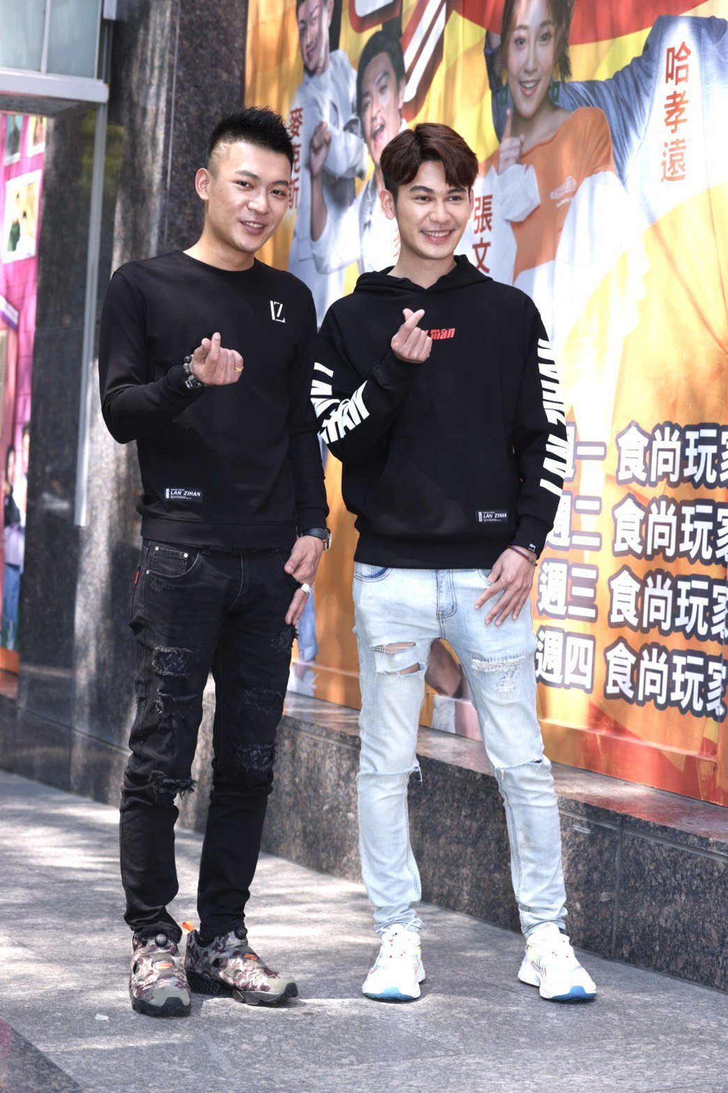 鳳梨鼠薯與弟弟一起上綜藝節目「女人我最大」。記者王聰賢/攝影