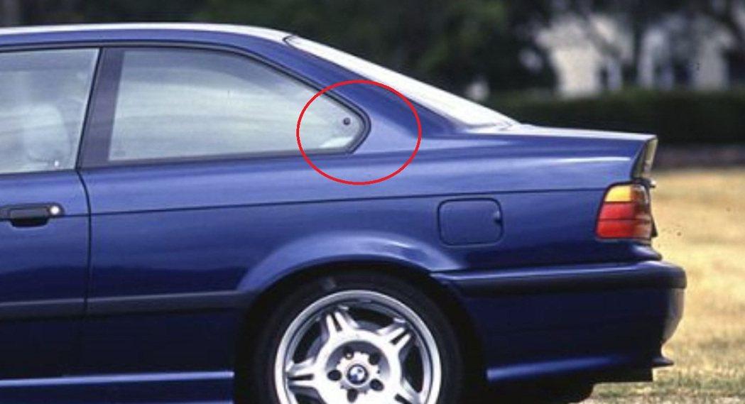 E36 M3的霍夫邁斯特拐角(Hofmeister kink)。 摘自BMW