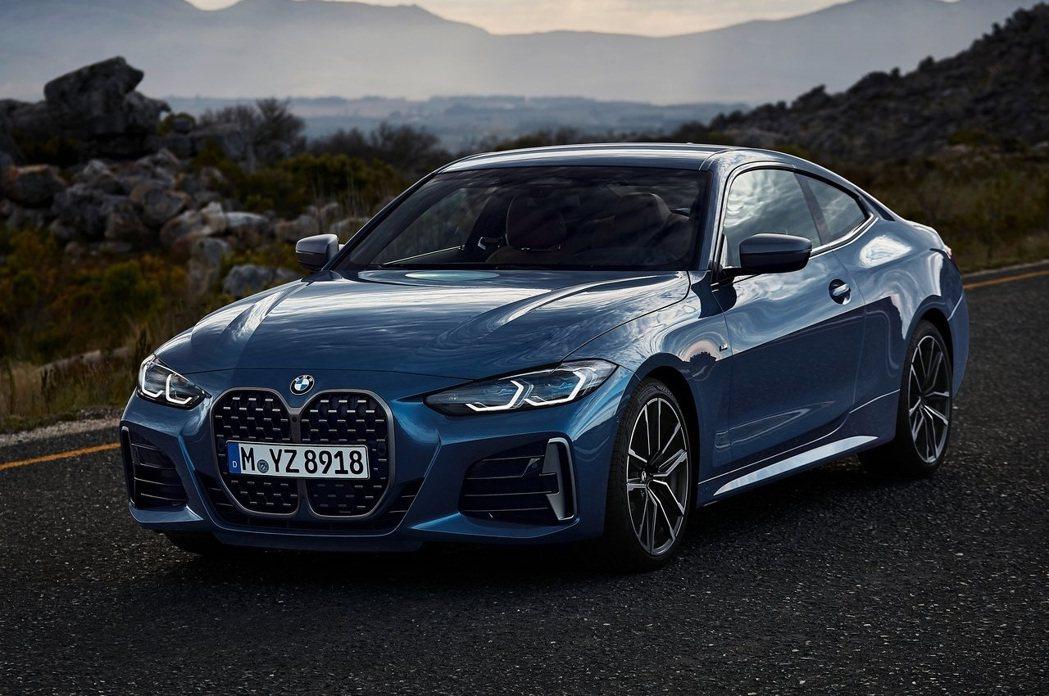 BMW 4-Series的創新設計引起了不少爭議。 摘自BMW