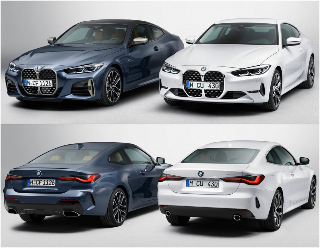 BMW 4-Series(G22)。 摘自BMW