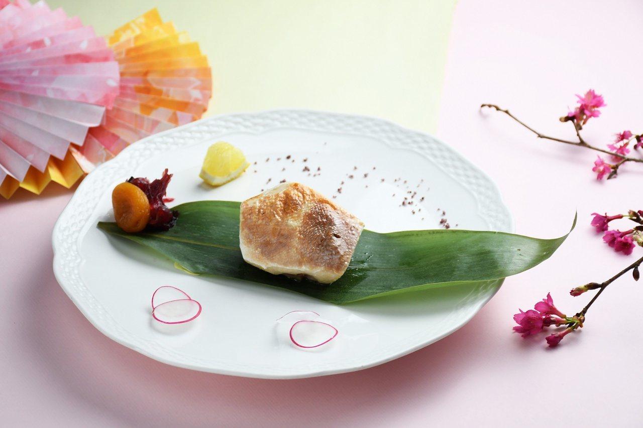 春季好食材鰤魚,膠質豐富,脂肪含量少,尤其適合熟齡族。 圖/涵碧樓提供