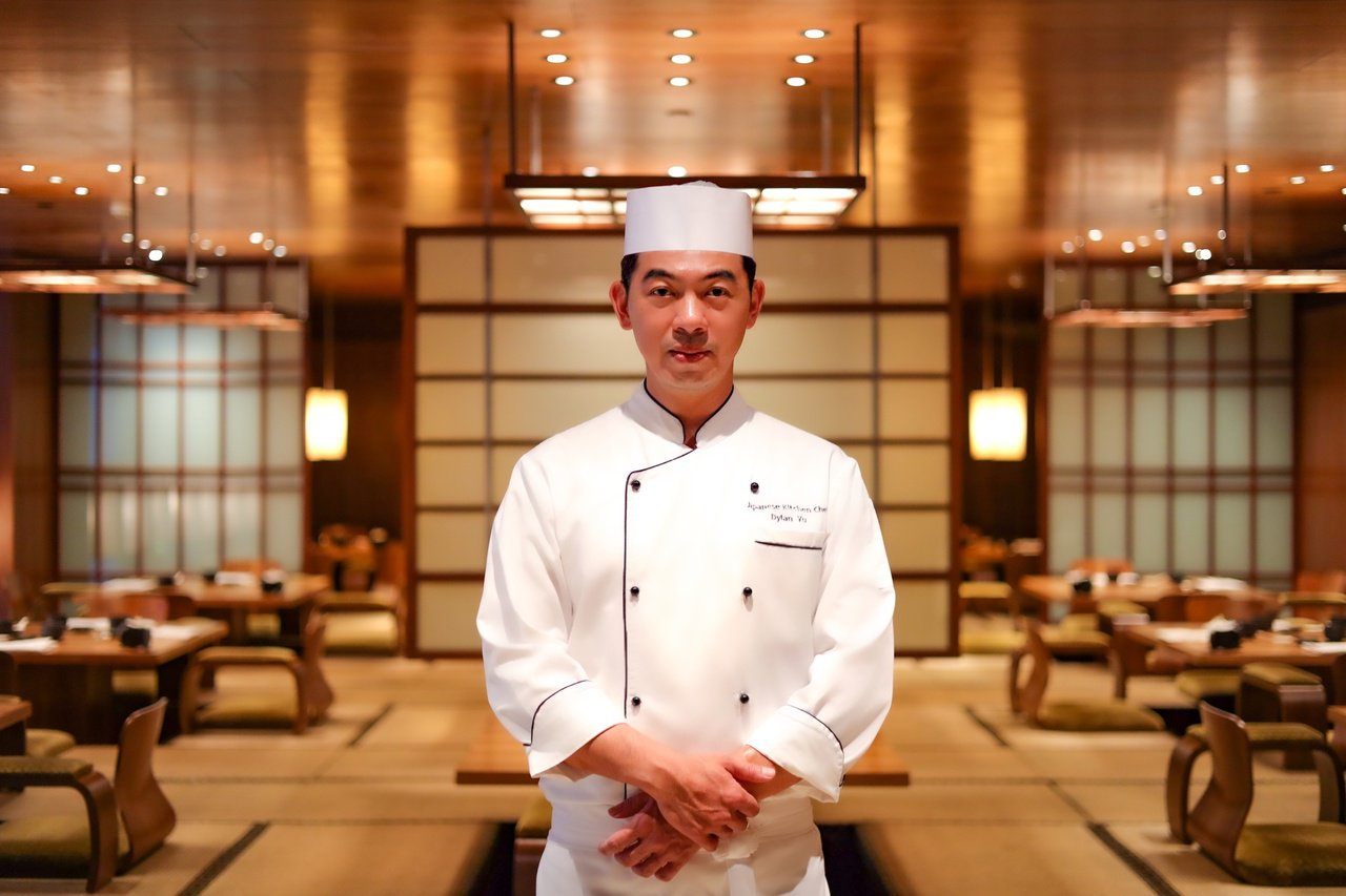日月潭涵碧樓日本餐廳主廚游敦勛。 圖/涵碧樓提供