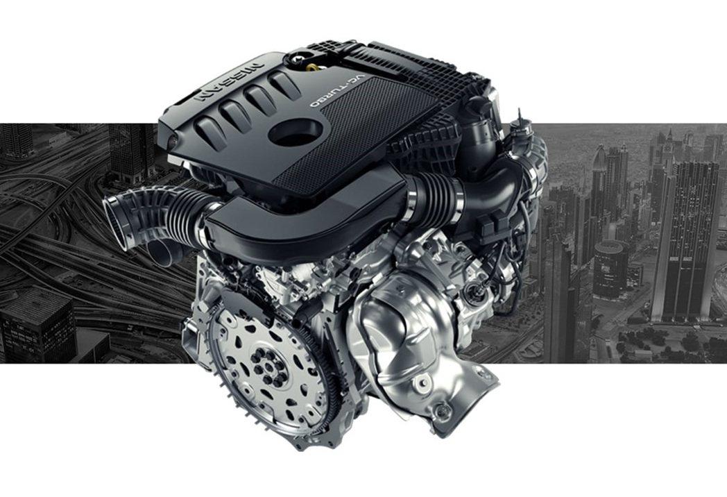 VC-Turbo可變壓縮比引擎(圖為2.0四缸版本)。 摘自Nissan