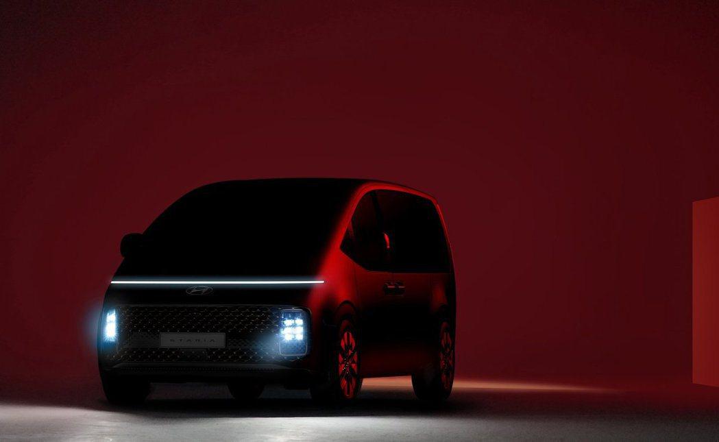 全新Hyundai Staria被原廠認定是一輛偏向豪華風的MPV。 摘自Hyu...