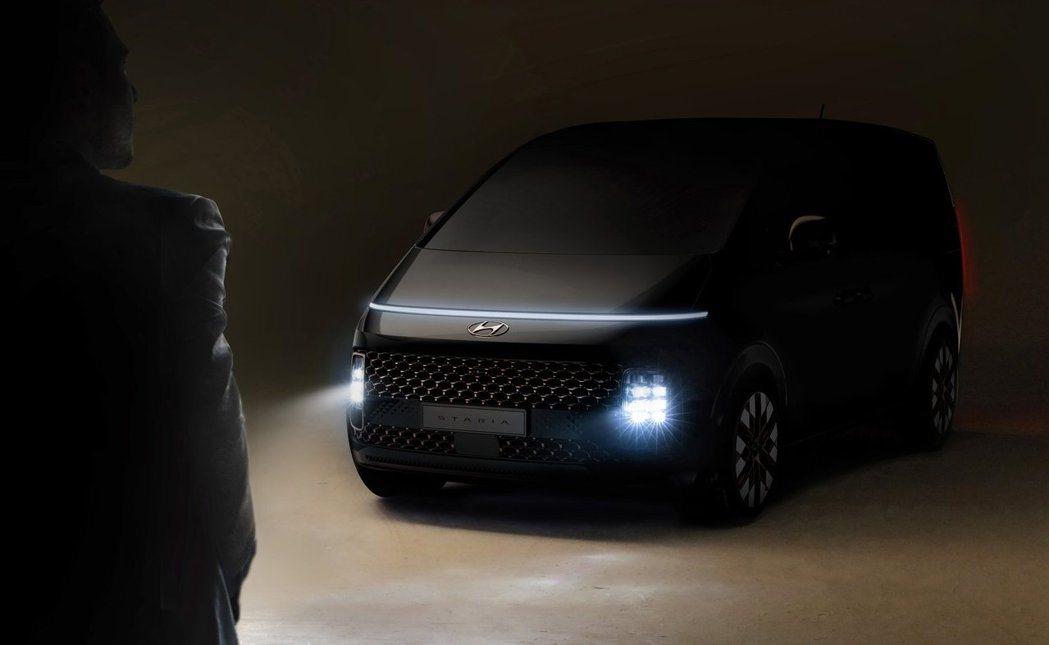 Starex不僅更名為Staria,更換上了全新的外觀設計。 摘自Hyundai