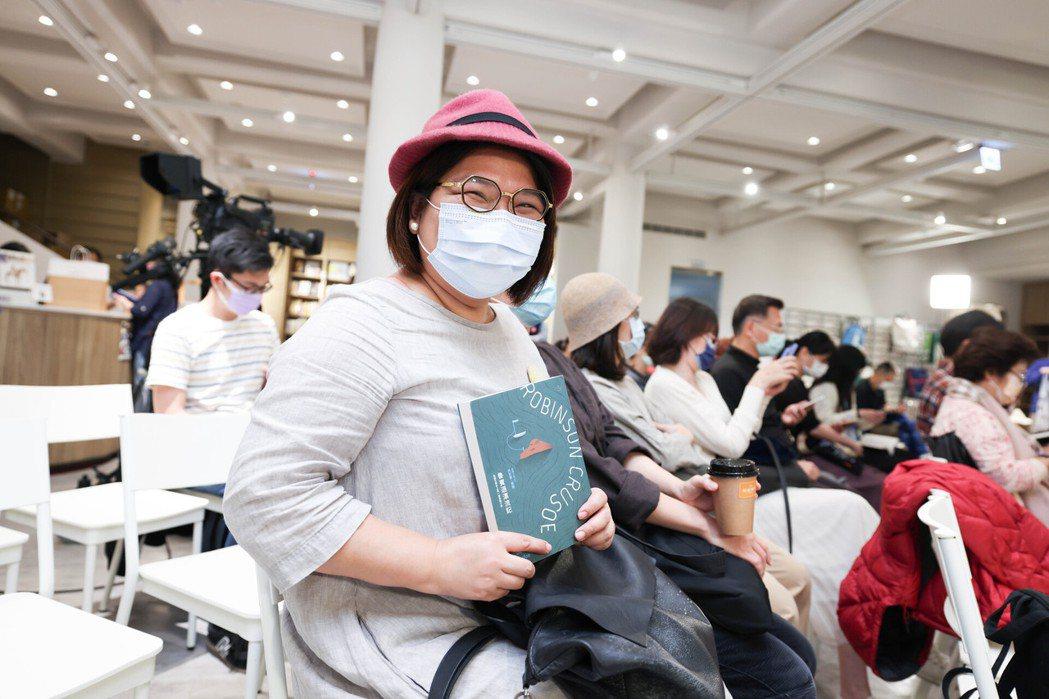 「果醬冠軍」柯亞自曝十二場讀書會全都報名。 圖/吳致碩攝影