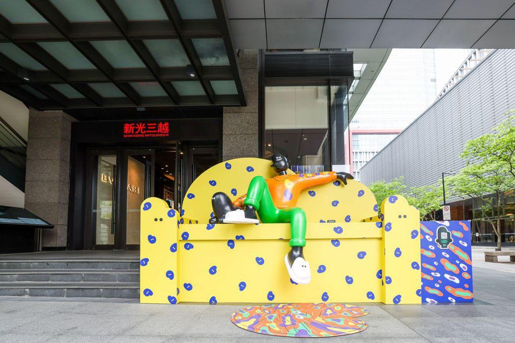 新光三越台北信義新天地A4「王窩」。圖/吳致碩攝影