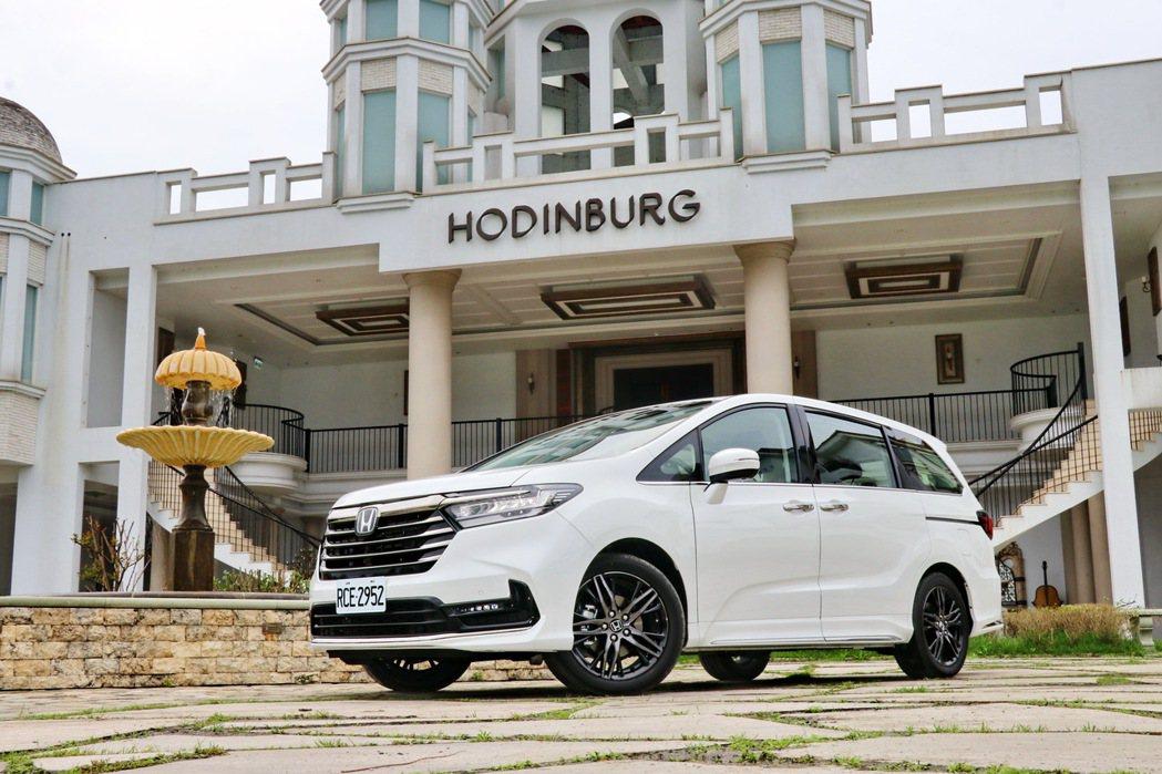 白色依然是全球最受歡迎的車色,尤其又以亞洲國家最受歡迎。圖為Honda Odys...