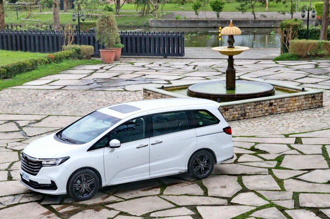 Honda Odyssey依然是台灣市場指標性的七人座MPV。 記者陳威任/攝影